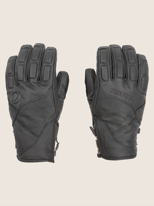 Service Gore-tex Glove In Black, Front View