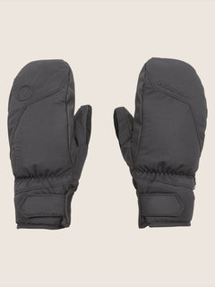 Stay Dry Gore-tex Mitt In Black, Front View