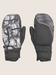 Stay Dry Gore-tex Mitt In Black White, Front View