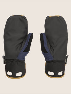 Stay Dry Gore-tex Mitt In Navy, Back View