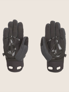 Crail Glove In Black, Back View