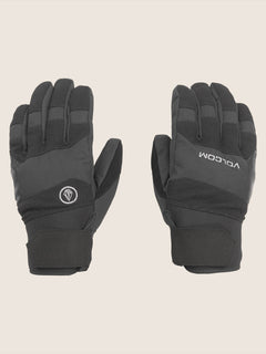 Crail Glove In Black, Front View