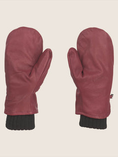 Emmet Rope Tow Mitt In Burnt Red, Back View