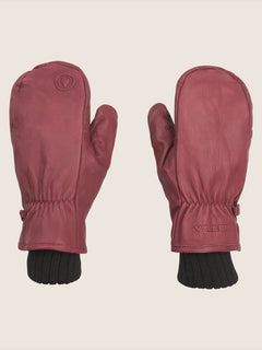 Emmet Rope Tow Mitt In Burnt Red, Front View