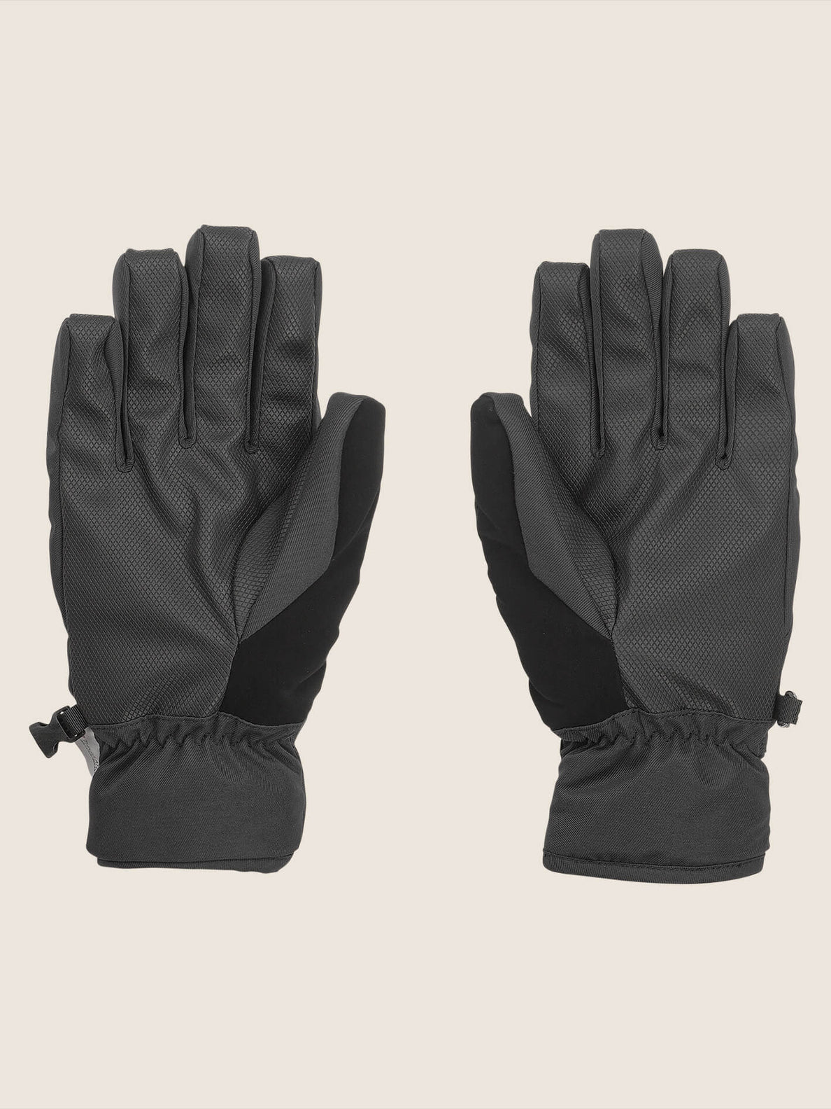 Nyle Glove In Black, Back View