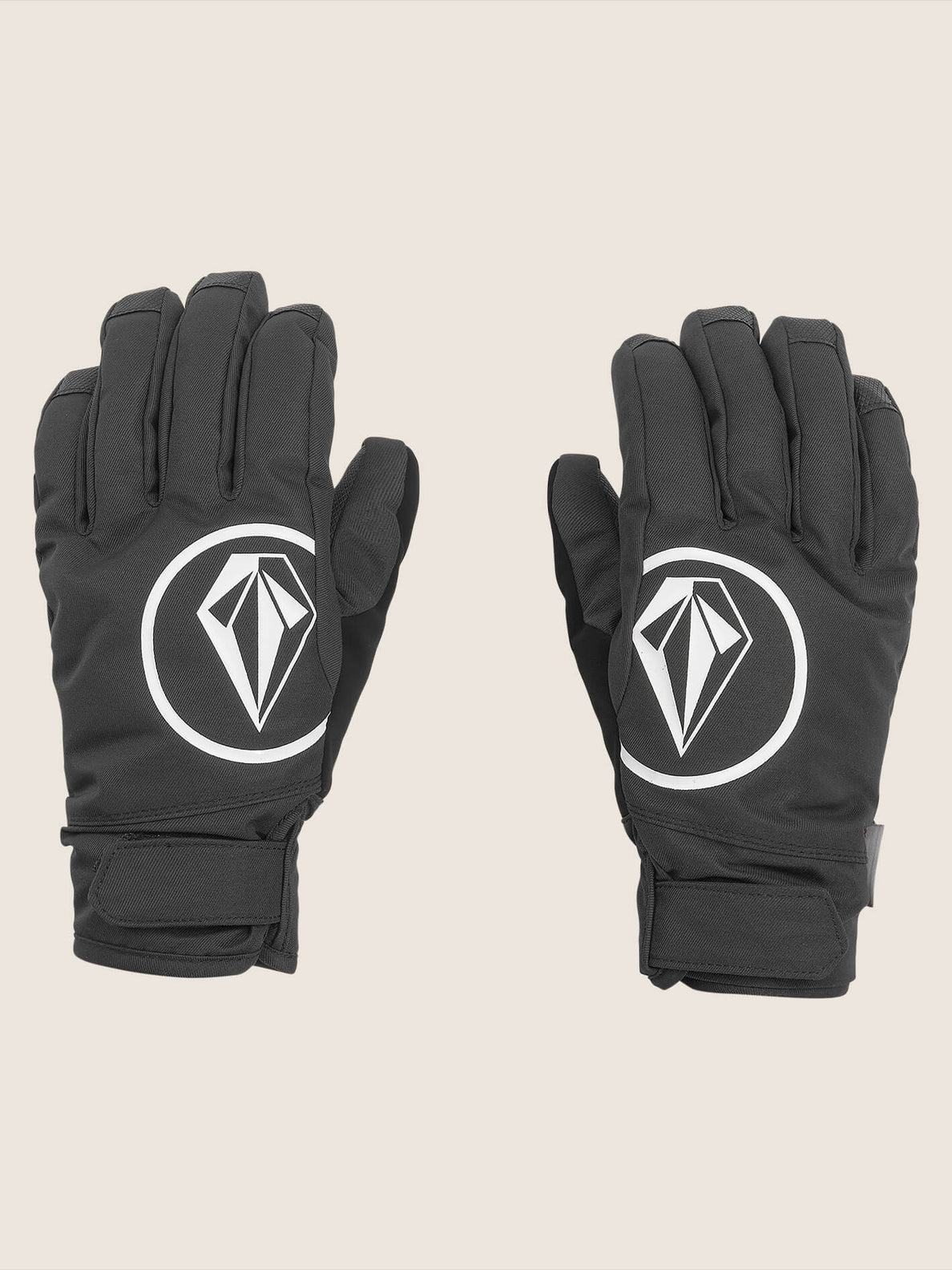Nyle Glove In Black, Front View