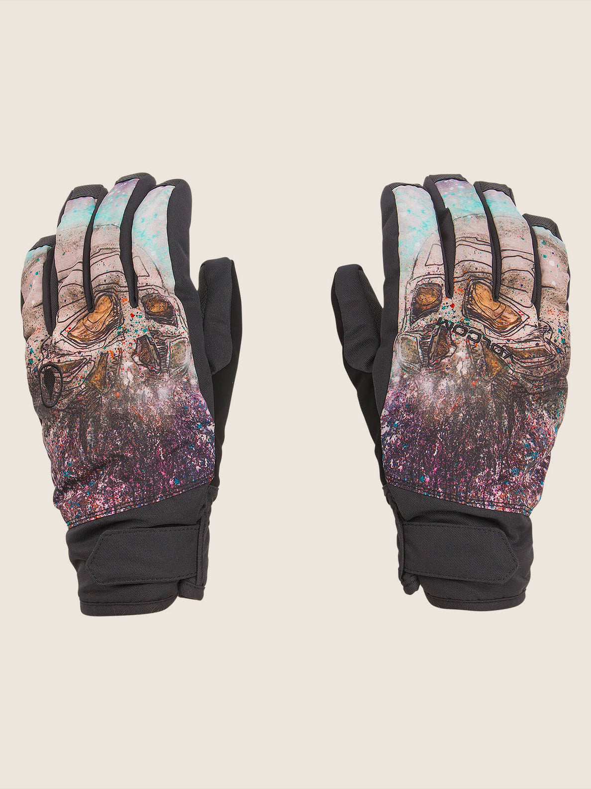 Nyle Glove In Multi, Front View