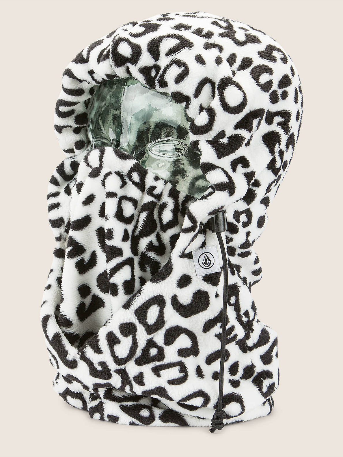 Advent Hoodie In Cheetah, Front View