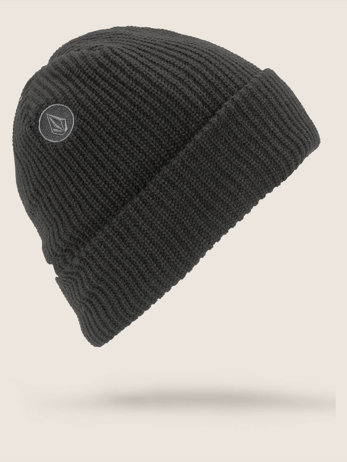 Polar Lined Beanie In Black, Back View