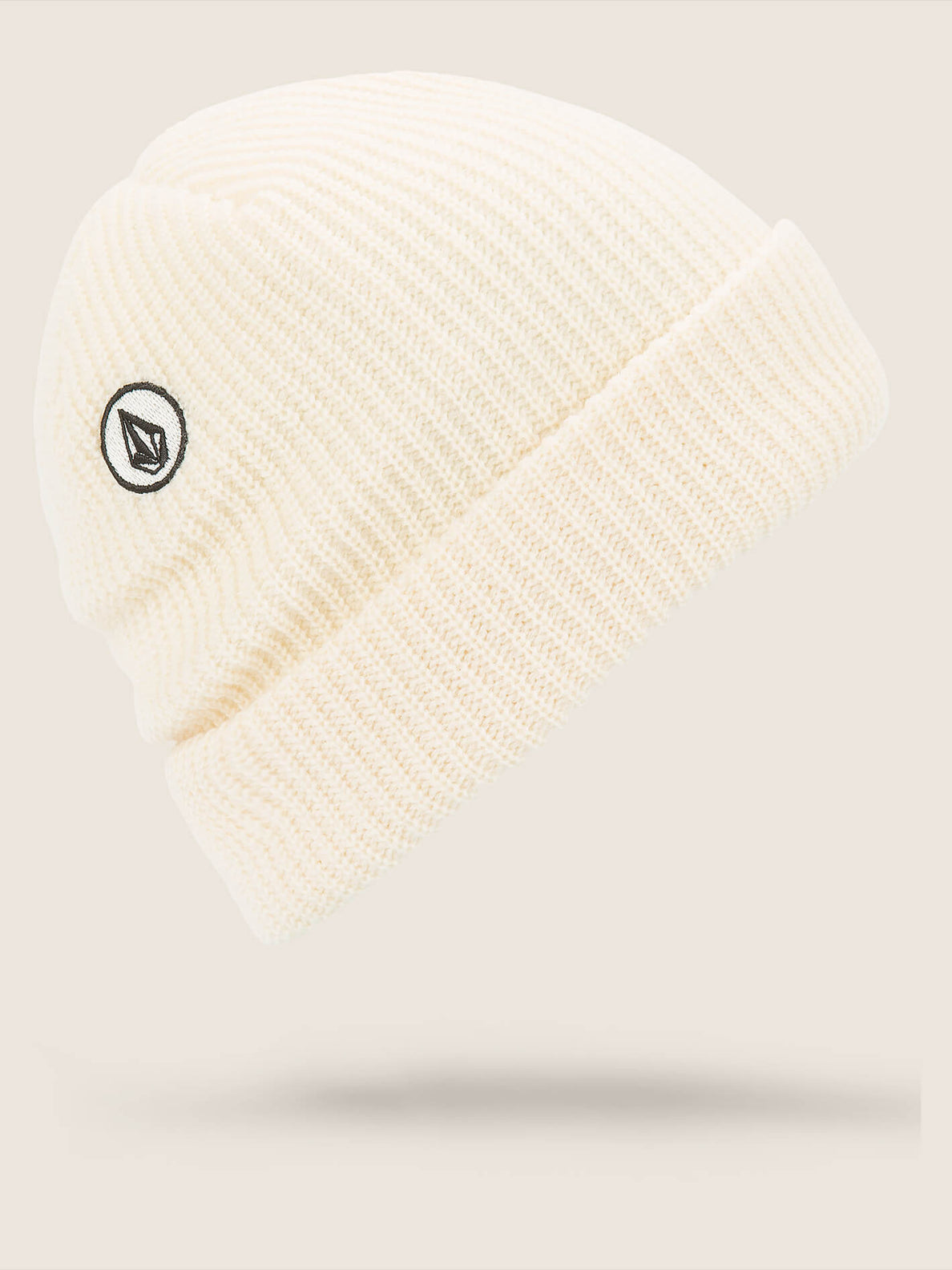 Polar Lined Beanie In Bone, Back View