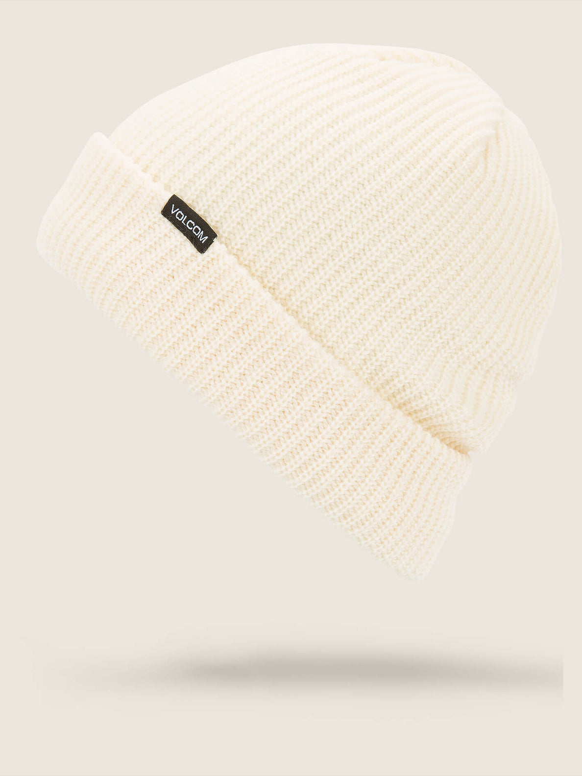 Polar Lined Beanie In Bone, Front View