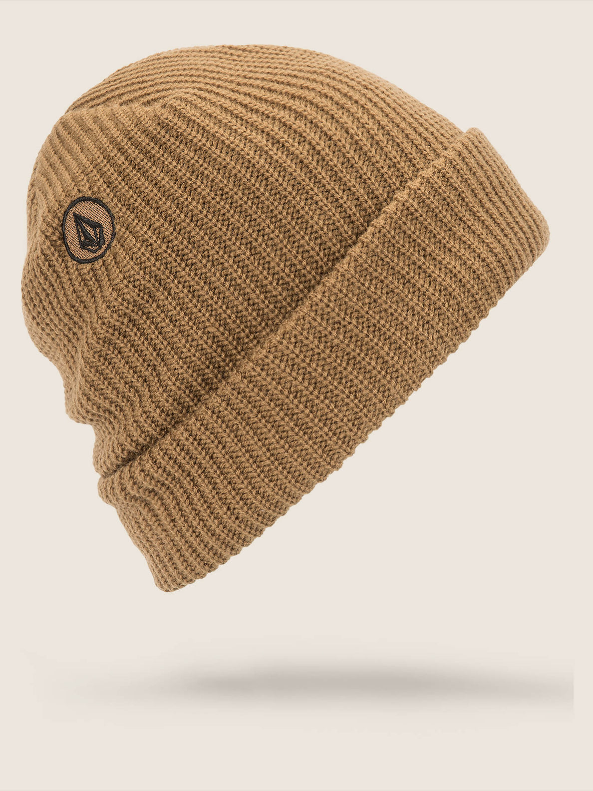 Polar Lined Beanie In Copper, Back View