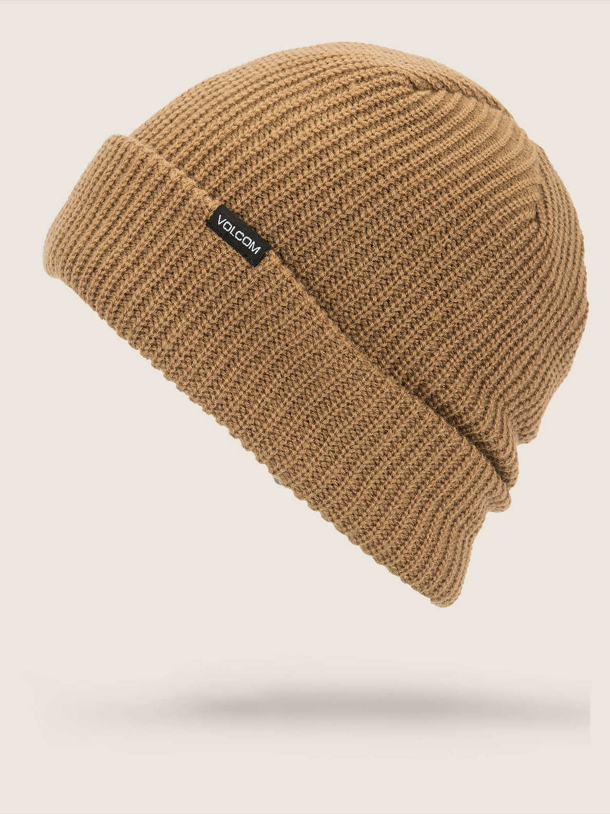 Polar Lined Beanie In Copper, Front View