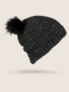 Lula Beanie In Black, Back View