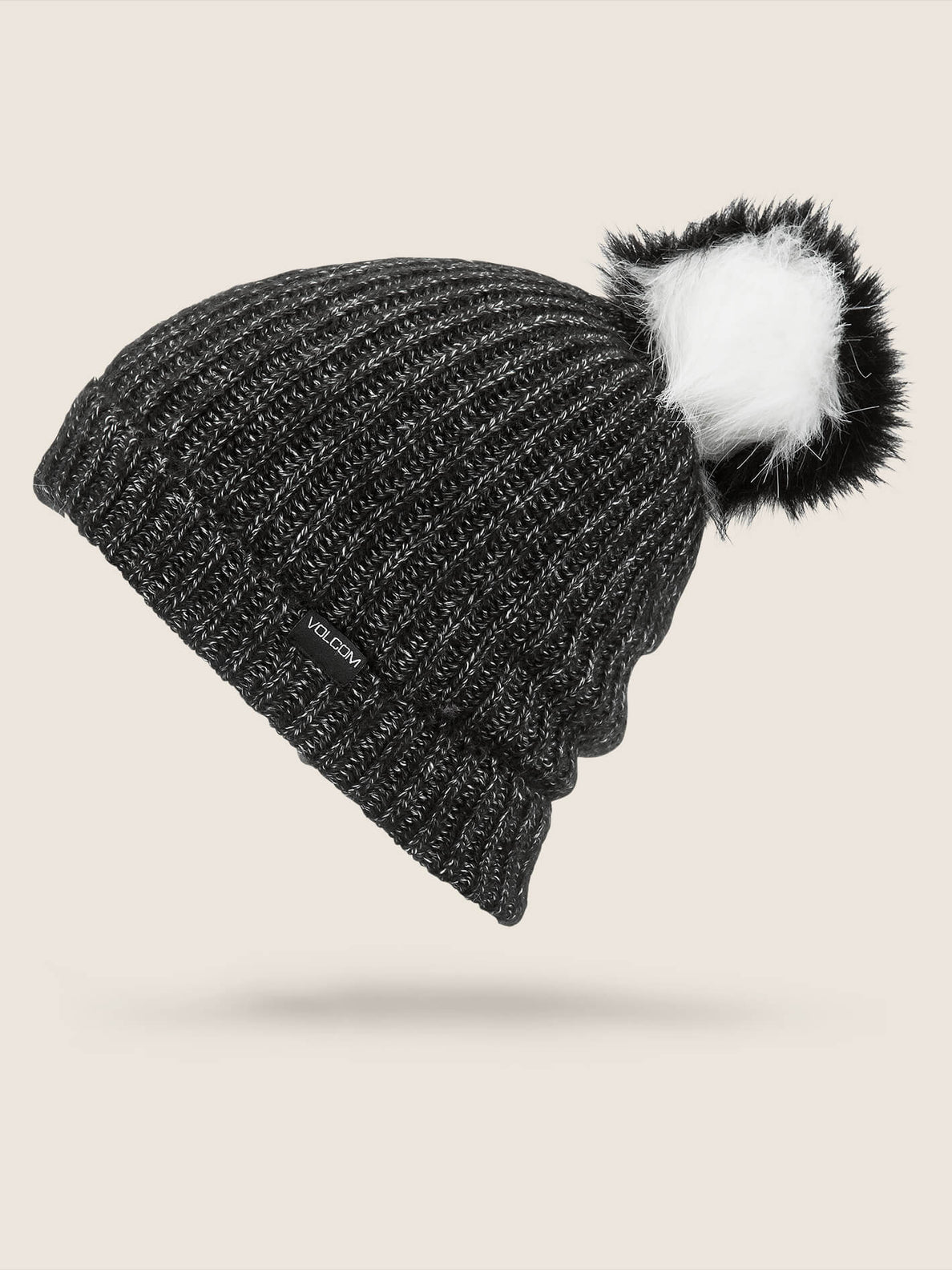 Lula Beanie In Black, Front View