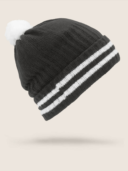 Wiltern Beanie In Black, Back View