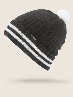 Wiltern Beanie In Black, Front View