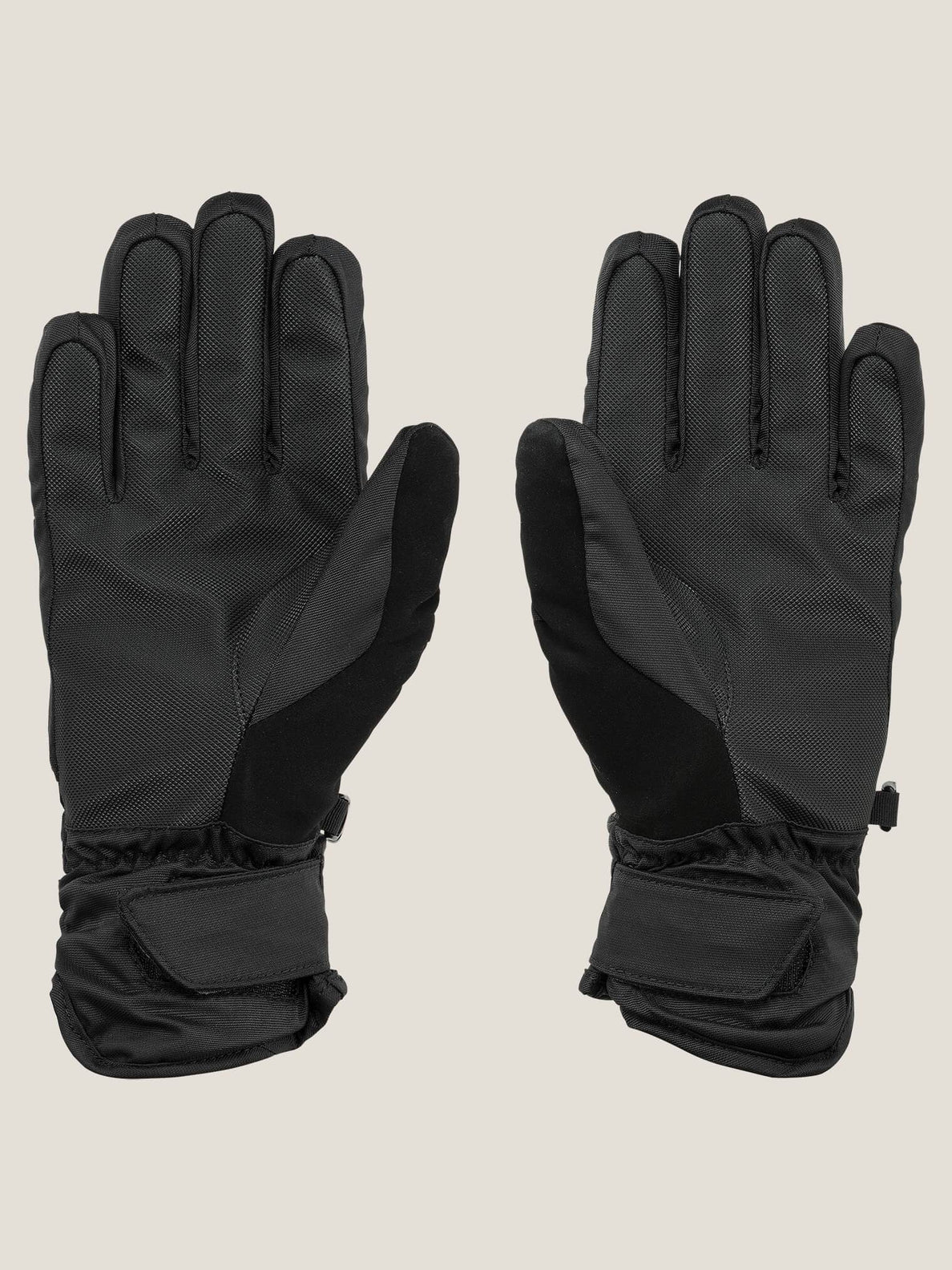 Tonic Glove In Black, Back View