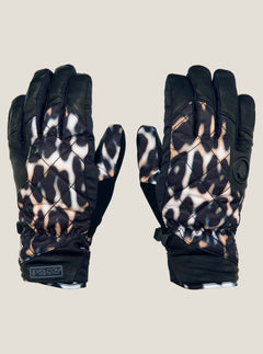 Tonic Glove In Cheetah, Front View