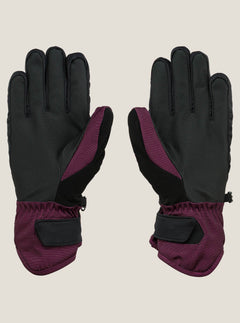 Tonic Glove In Winter Orchid, Back View
