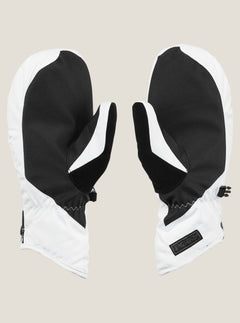 Bistro Mitt In White, Back View