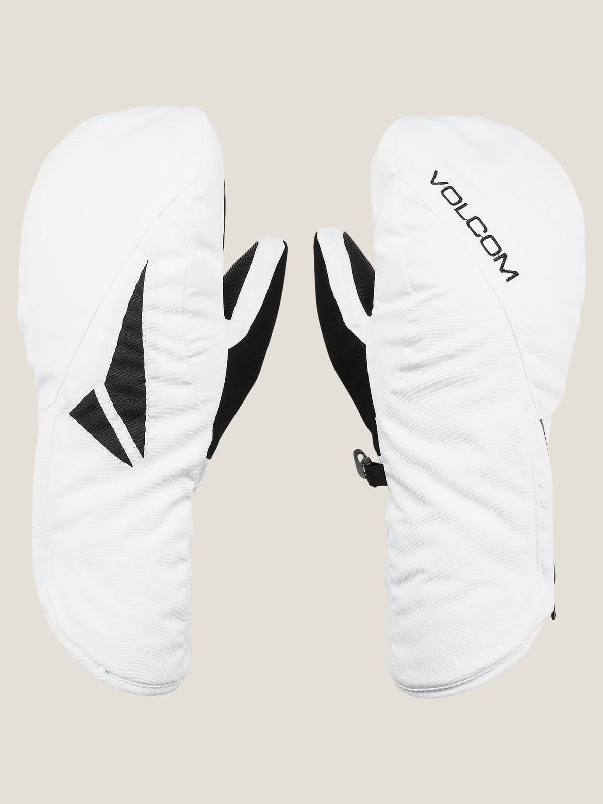 Bistro Mitt In White, Front View