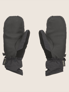 Peep Gore-tex Mitt In Black, Back View