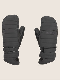 Peep Gore-tex Mitt In Black, Front View