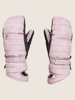 Peep Gore-tex Mitt In Pink, Front View