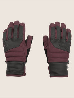 Tonic Glove In Merlot, Front View