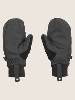 Bistro Mitt In Black, Back View