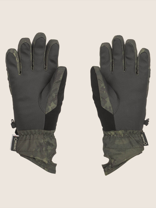 Peep Gore-tex Glove In Camouflage, Back View