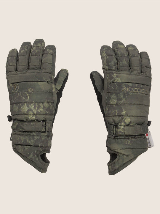 Peep Gore-tex Glove In Camouflage, Front View