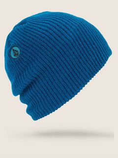 Vs Beanie In Blue, Front View