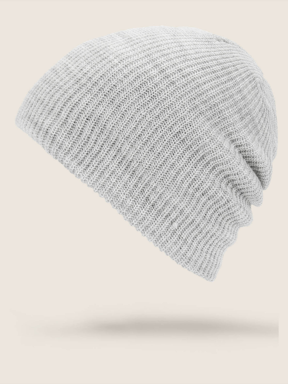 Vs Beanie In Heather Grey, Back View