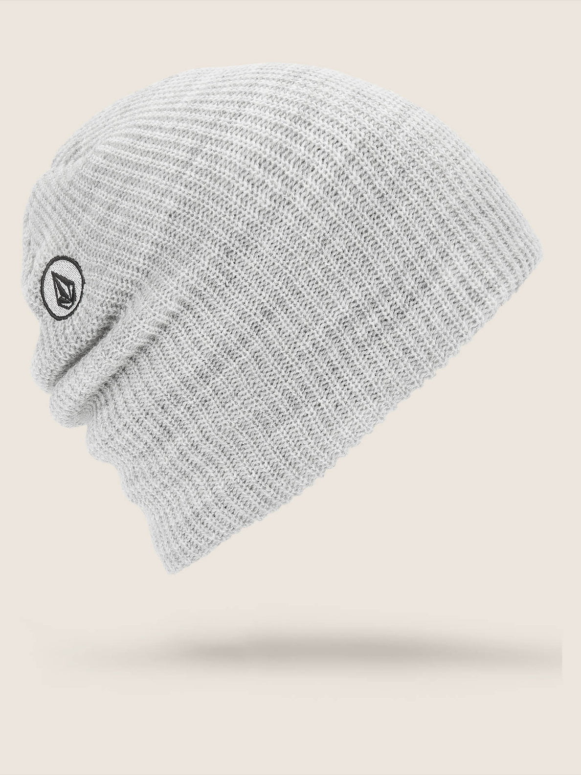 Vs Beanie In Heather Grey, Front View