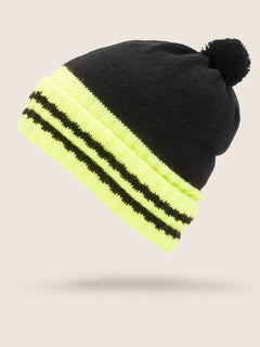 Fort Beanie In Black, Back View