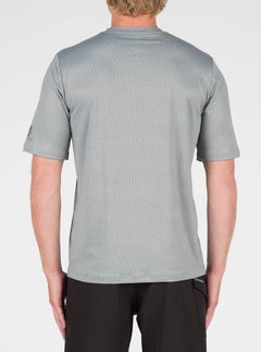 Distortion Surf Shirt In Pewter, Back View