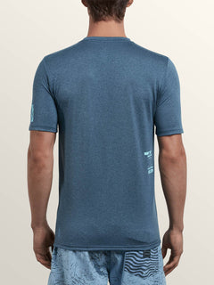 Lido Pixel Heather Short Sleeve Rashguard