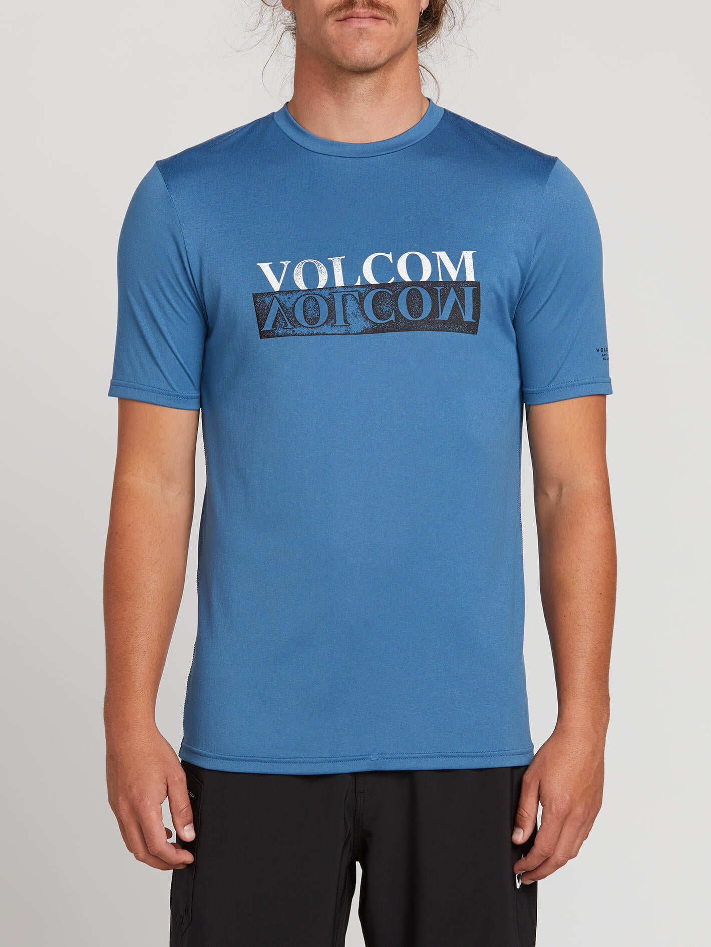 Volcom Effect Short Sleeve Rashguard - Royal - S
