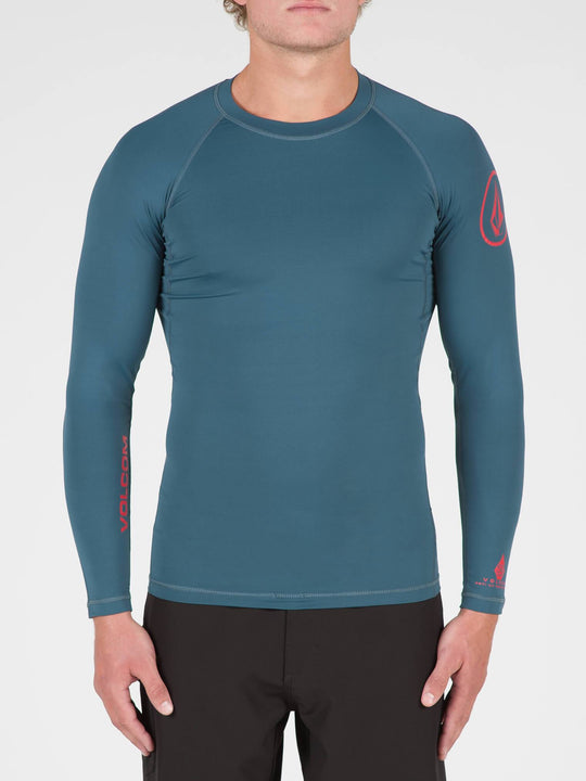 Lido Solid Long Sleeve Rashguard