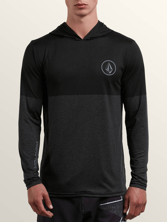 Lido Heather Block Long Sleeve Rashguard