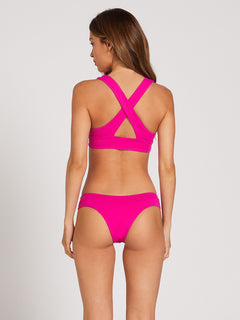Simply Seamless Halter Top - Fuschia (O1322000_FUS) [2]
