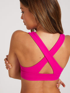 Simply Seamless Halter Top - Fuschia (O1322000_FUS) [50]