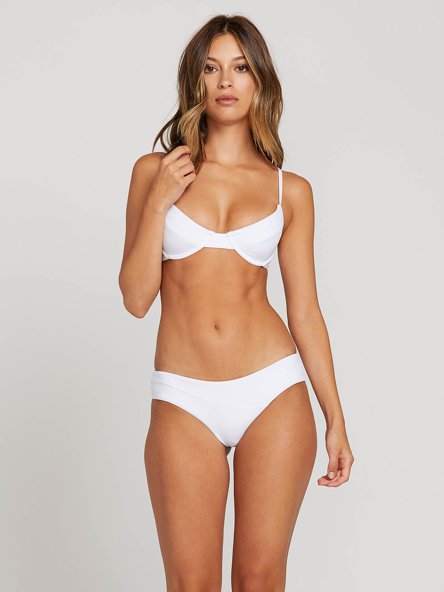 eb1d53606f61 Simply Seamless Cheeky Bottoms - White in WHITE - Alternative View