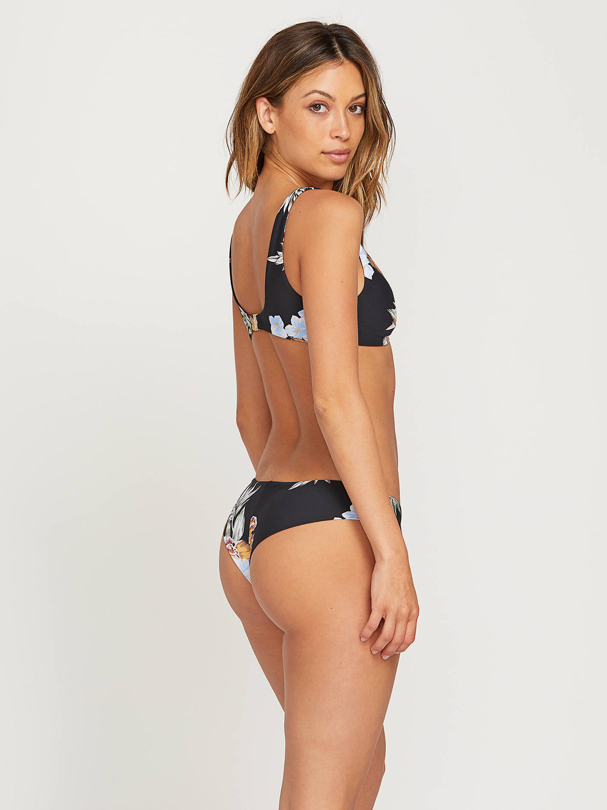 Tropakill Cheekini Bottoms In Black, Front View