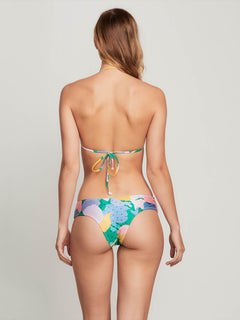 Growing On Me Cheeky Bottoms In Green Spray, Back View