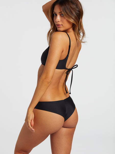 Simply Solid Cheekini Bottom - Black