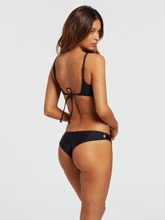 Simply Solid Cheekini Bottom - Black (O2141900_BLK) [B]