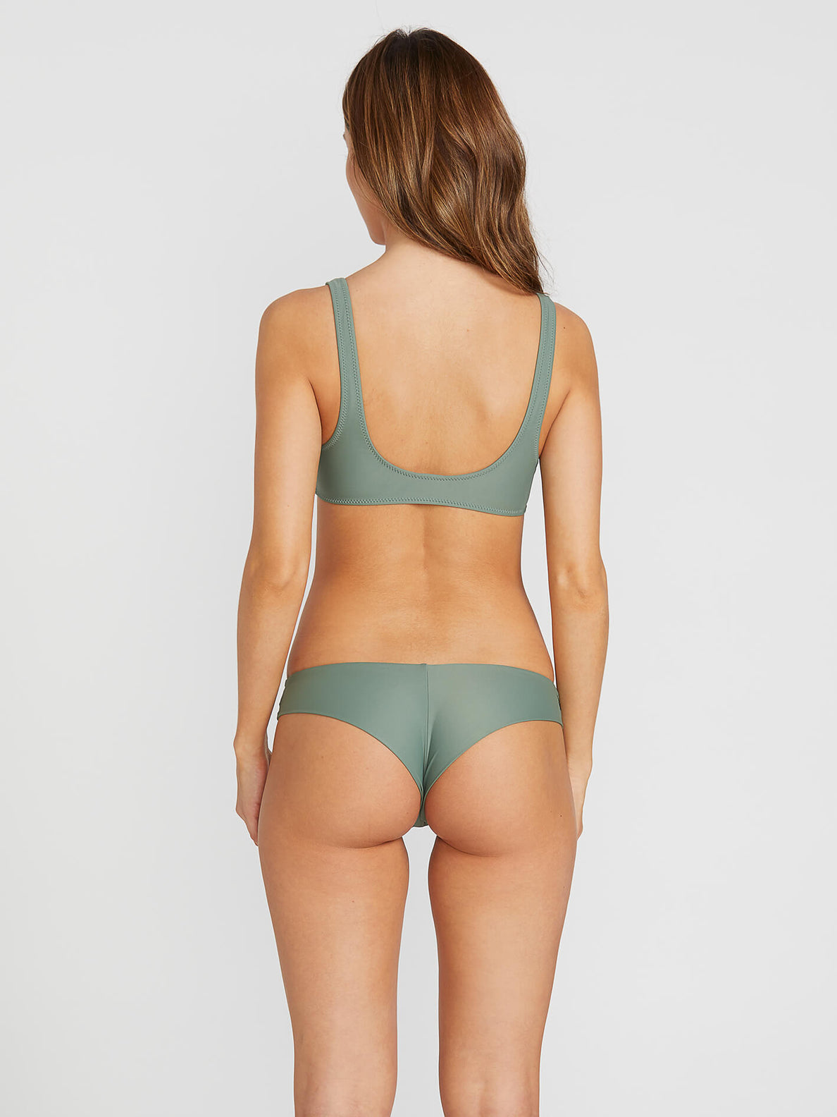 Simply Solid Cheeky Bottoms - Dark Green (O2141900_DKG) [1]